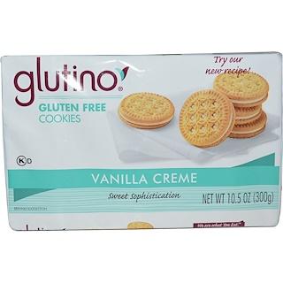 Glutino, Gluten Free Cookies, Vanilla Creme, 10.5 oz (300 g)