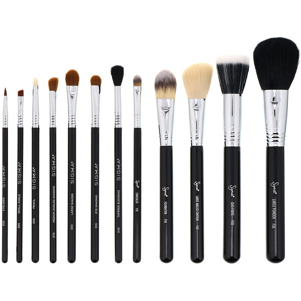 Essential Brush Kit, 12 Piece Kit