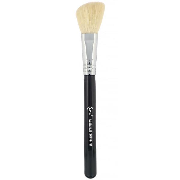 F40, Large Angled Contour Brush, 1 Brush