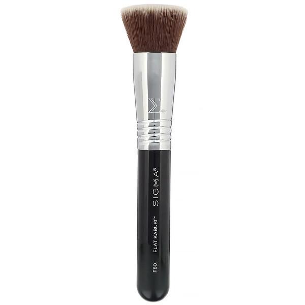Sigma, F80, Flat Kabuki Brush, 1 Brush