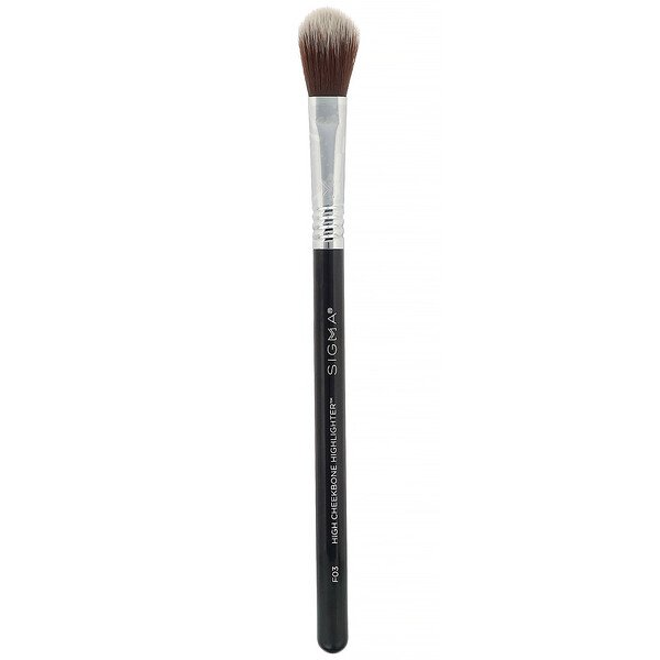 F03, High Cheekbone Highlighter Brush, 1 Brush