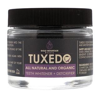 Gold Mountain Beauty, Tuxedo, All Natural and Organic Teeth Whitener + Detoxifier, 32 g