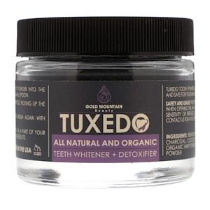 Gold Mountain Beauty, Tuxedo, All Natural and Organic Teeth Whitener + Detoxifier, 32 g отзывы