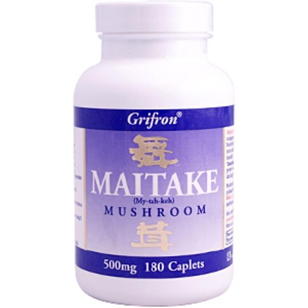 Mushroom Wisdom, Maitake Mushroom, 500 mg, 180 Caplets (Discontinued Item)