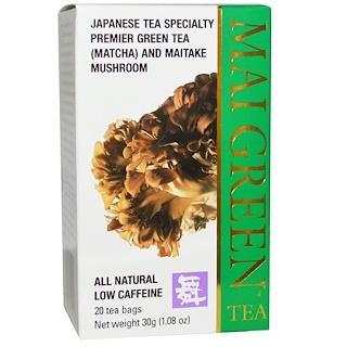Mushroom Wisdom, Mai Green Tea, 20 Tea Bags, 1.08 oz (30 g)