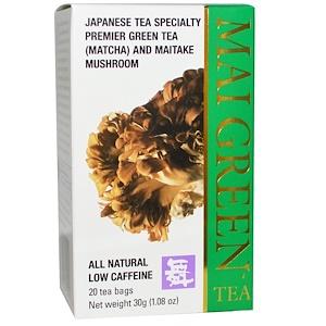 Машрум Виздом, Mai Green Tea, 20 Tea Bags, 1.08 oz (30 g) отзывы покупателей