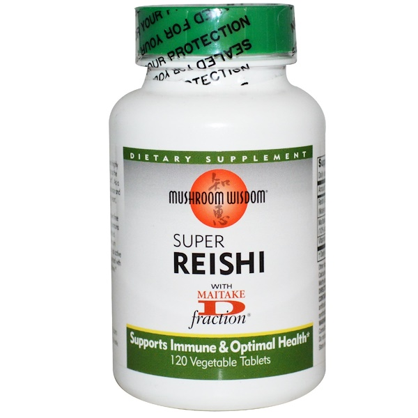 Mushroom Wisdom, Super Reishi, 120 Veggie Tabs (Discontinued Item)