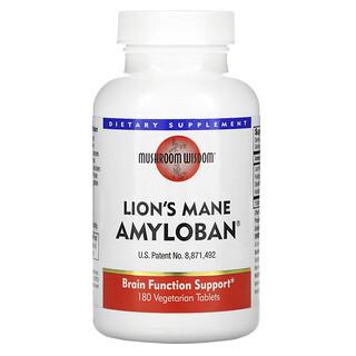 Mushroom Wisdom, Amyloban 3399, 180 Tabletas Vegetarianas