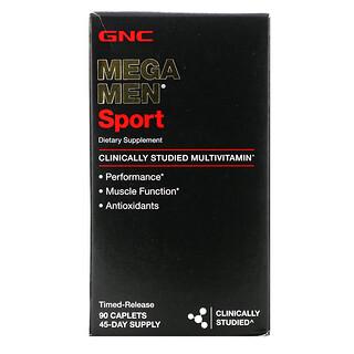 GNC, Mega Men, Sport Multivitamin , 90 Caplets