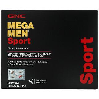 GNC, Mega Men, Sport, Vitapak Multivitamin Blend, 30 Packs