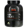 GNC, Pure Isolate, Micro-Filtered Whey Protein Isolate, Vanilla Custard, 4.94 lb (2240 g)