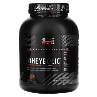 GNC, AMP, Wheybolic, Chocolate Fudge, 3 lb (1362.5 g)