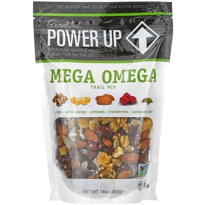 Power Up Mega Omega Trail Mix, 14 oz (397 g)