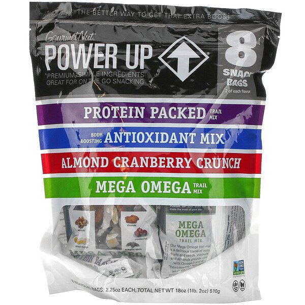 On-The-Go Snacking, Assorted Flavors, 8 Snack Packs, 2.25 oz Each