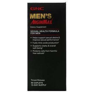 GNC, Men's ArginMax, Timed-Release, 90 Caplets