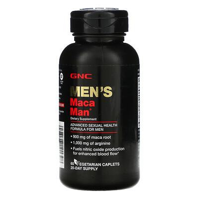 Купить GNC Men's Maca Man, 60 Vegetarian Caplets