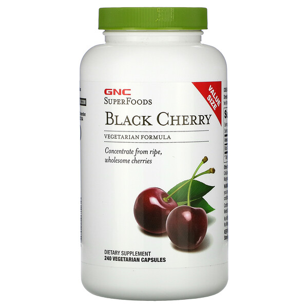 SuperFoods, Black Cherry, 240 Vegetarian Capsules