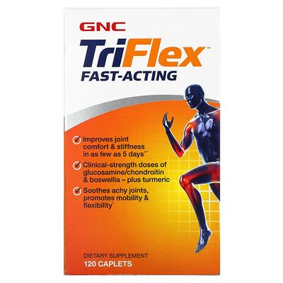 GNC TriFlex Fast-Acting, 120 Caplets