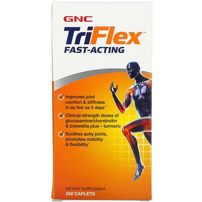 GNC TriFlex, Fast- Acting, 240 Caplets