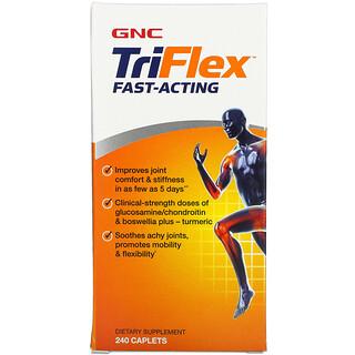 GNC, TriFlex, Fast- Acting, 240 Caplets