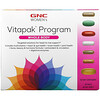 GNC, Vitapak, женская программа, для всего тела, 30 упаковок