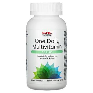 GNC, Women's One Daily Multivitamin, 50 Plus, 60 Caplets