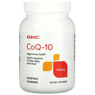 GNC, CoQ-10, 100 mg, 120 Softgels