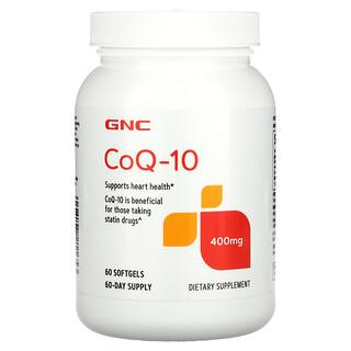 GNC, CoQ-10, 400 mg, 60 Softgels
