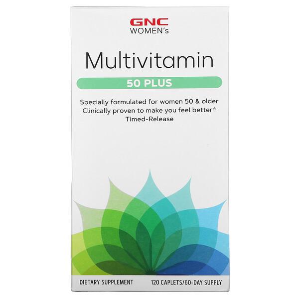 Multivitamin, 50 Plus, 120 Caplets