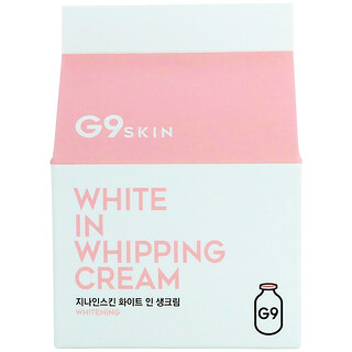 G9skin, White In Whipping Cream, 50 g