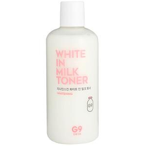 G9skin, ホワイトインミルク・トーナー、300 ml