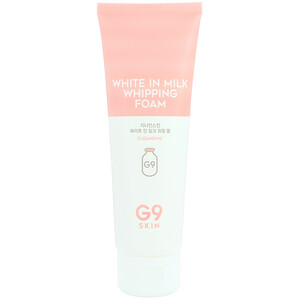 G9skin, White In Milk Whipping Foam, 120 ml отзывы покупателей