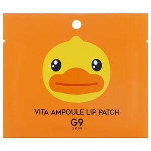 G9skin, Vita Ampoule Lip Patch, 5 Patches, 3 g Each отзывы