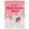 G9skin, Strawberry Milk Bomb Mask, 5 Sheets, 21 ml Each