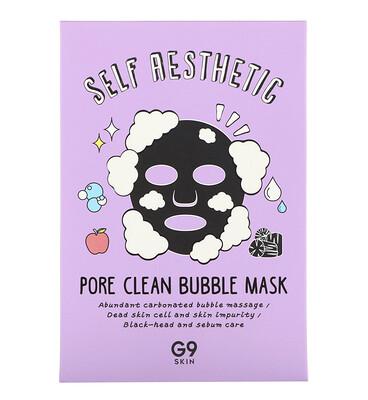 Купить G9skin Self Aesthetic, маска с пузырьками для очистки пор, 5шт. по 23мл (0, 78жидк. унции)