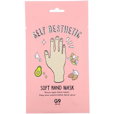 Купить G9skin Self Aesthetic, смягчающая маска для рук, 5шт., 10мл (0, 33жидк.унции)