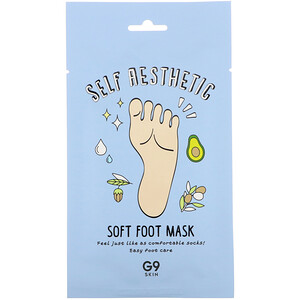 G9skin, Self Aesthetic, Soft Foot Mask, 5 Masks, 0.40 fl oz (12 ml) отзывы