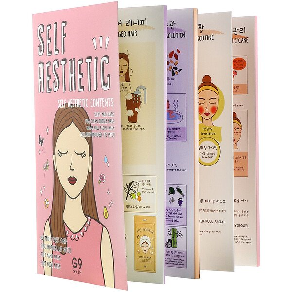 G9skin, Self Aesthetic Magazine, 8 Sheets (Discontinued Item)