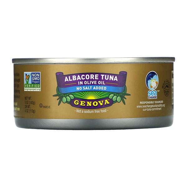 Genova, Albacore Tuna In Olive Oil, 5 oz ( 142 g)