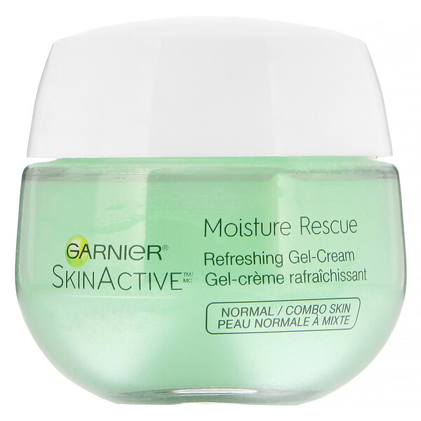 SkinActive, Moisture Rescue Refreshing Gel-Cream, Normal/Combo Skin, 1.7 oz (50 g)