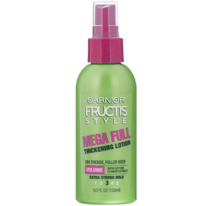 Garnier, Fructis Style, Mega Full, Thickening Lotion, 5 fl oz (145 ml) отзывы покупателей