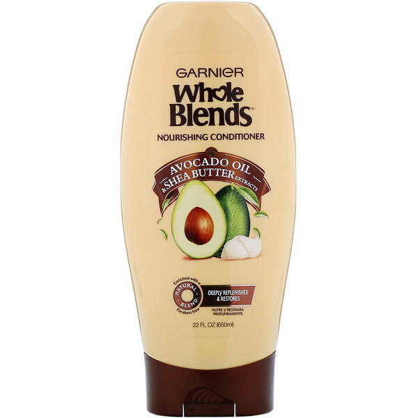 Whole Blends, Avocado Oil & Shea Butter Nourishing Conditioner, 22 fl oz (650 ml)