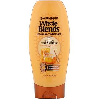 Garnier, Whole Blends, Honey Treasures Repairing Conditioner, 12.5 fl oz (370 ml)
