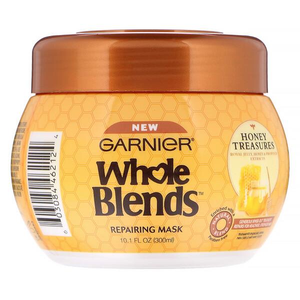 Whole Blends, Repairing Mask, Honey Treasures, 10.1 fl oz (300 ml)