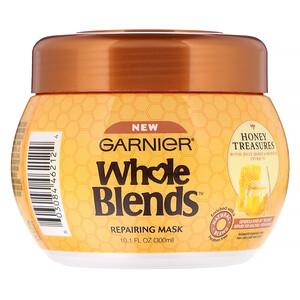 Garnier, Whole Blends, Repairing Mask, Honey Treasures, 10.1 fl oz (300 ml) отзывы покупателей