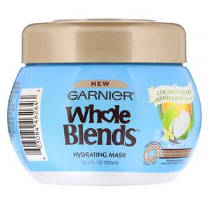 Garnier, Whole Blends, Hydrating Mask, Coconut Water & Vanilla Milk, 10.1 fl oz (300 ml) отзывы