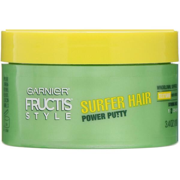 Fructis, Surfer Hair, Power Putty, 3.4 oz (100 g)