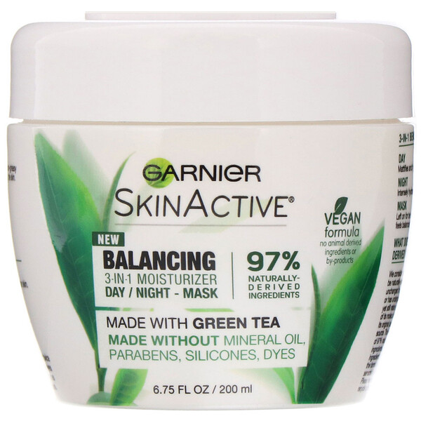 SkinActive, Balancing 3-in-1 Face Moisturizer with Green Tea, 6.75 fl oz (200 ml)