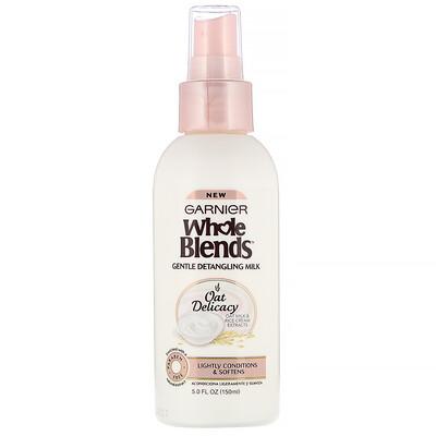 Купить Garnier Whole Blends, мягкое молочко для расчесывания волос, «Нежность овса», 150мл