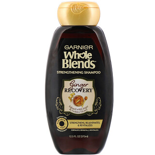 Garnier, Whole Blends, Strengthening Shampoo, Ginger Recovery, 12.5 fl oz (370 ml)